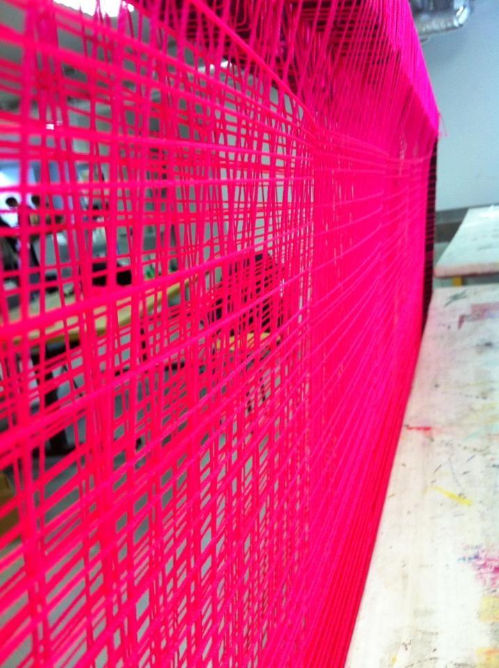 Den 'røde' tråd som skal gå igennem vores Promotion film, som er pink  #KEA #Pink