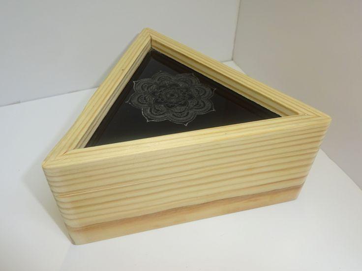 CD wooden box.