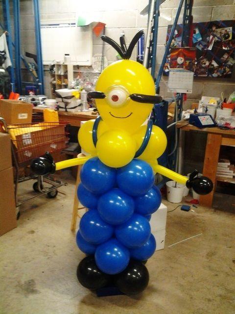 minion balloon - Buscar con Google