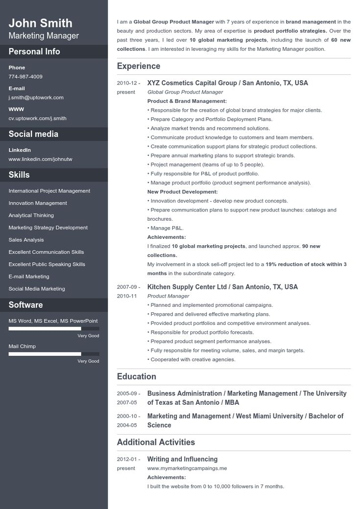 18 best cvs images on Pinterest Create your, Professional resume - pro resume builder