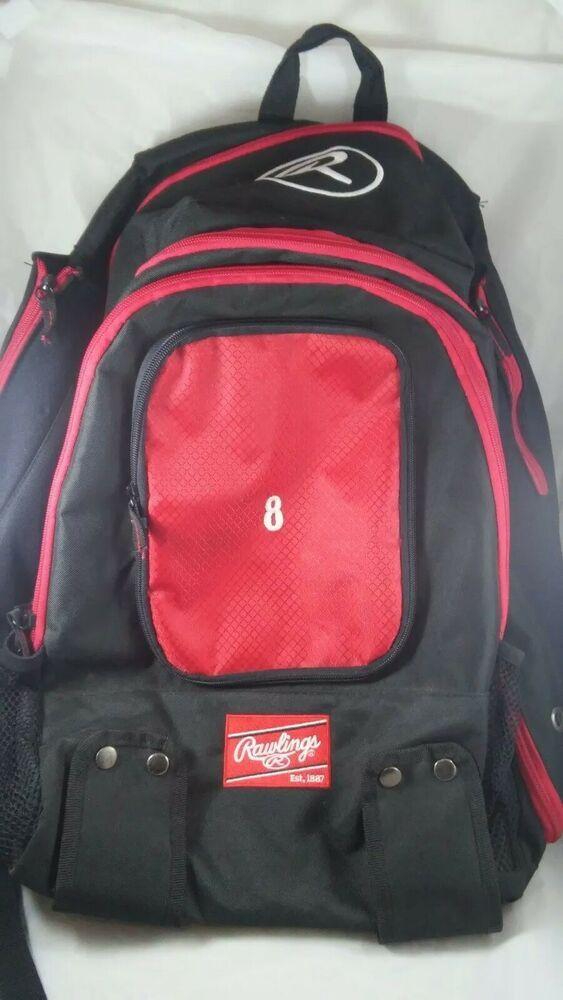 a745045ec7b6 Rawlings baseball Sport BAG Backpack #Rawlings #Backpack   Selling on eBay,  Amazon, Etsy, Poshmark, etc! in 2019   Softball backpacks, Rawlings  baseball, ...
