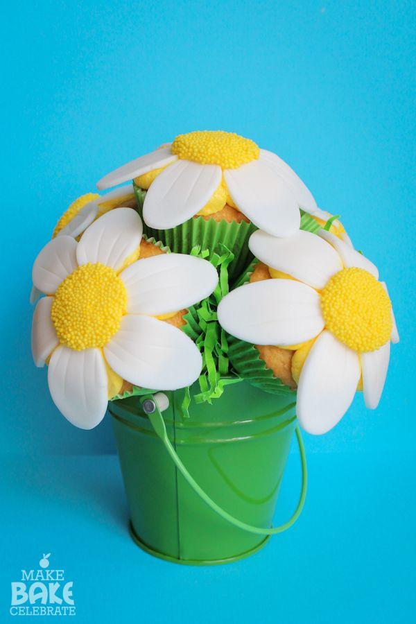 Pretty As A Daisy Cupcakes