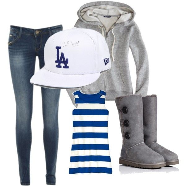 """Dodger Outfit 2"" by i4gotmyadres on Polyvore"