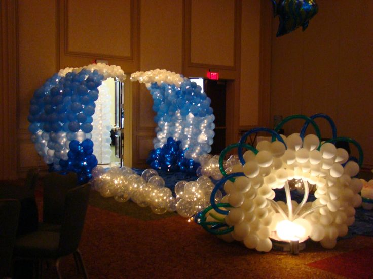 Atlanta Events Extraordinaire Party Blog Wave Entrance for Under the Sea Prom www.atlantaevents.biz