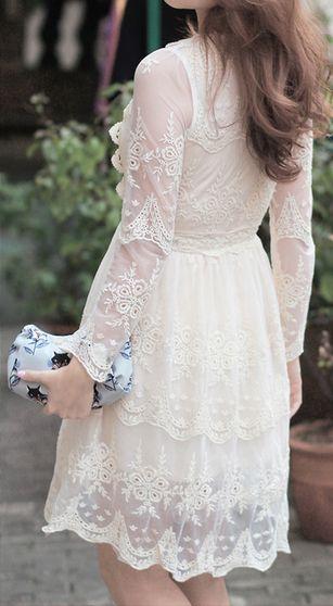 Mi Amore Lace Dress Chicwish..Love this dress