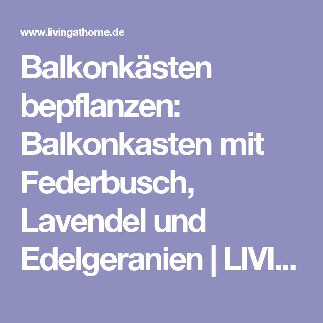 Luxury Balkonk sten Ideen f r alle Jahreszeiten zum Nachpflanzen