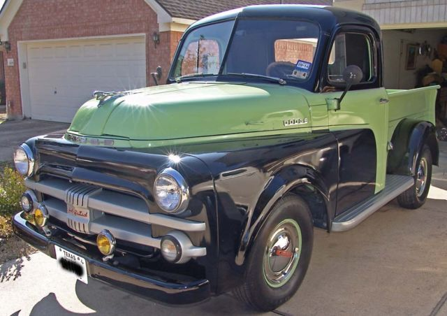 DODGE 1952 PICK UP 1/2 TON SHORT BED FULLY RESTORED -STUNNING THROUGHOUT For Sale Aylesbury, United Kingdom | AutoMotoClassicSale.com