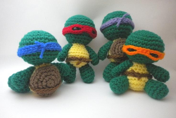 Amigurumi Mini Hat : 34 best images about TMNT on Pinterest Teenage turtles ...
