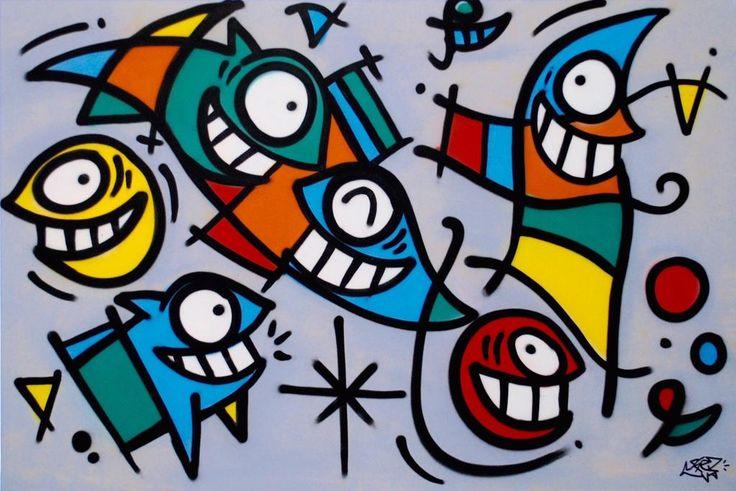 We have @PezBarcelona for You! http://www.urbanartroom.se #graffiti #streetart  #urbanart