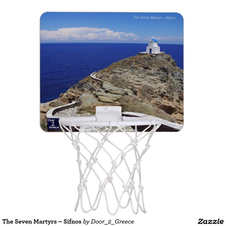 The Seven Martyrs – Sifnos Mini Basketball Hoops