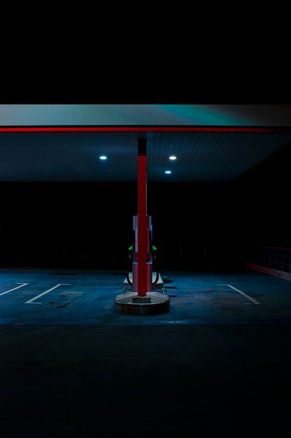 PETROL STATION on Behance