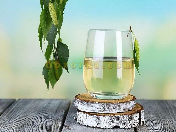 Почему берёзовый сок жёлтого цвета