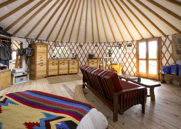 Yurt For Sale 24 foot Colorado brand yurt  yurt living  Yurt living Yurt interior Pacific Yurts