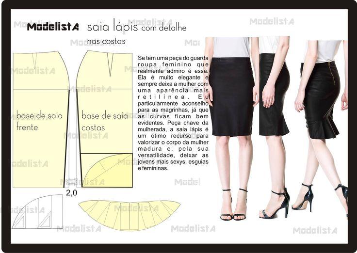 321 best Patterns images on Pinterest   Sewing patterns, Patron de ...