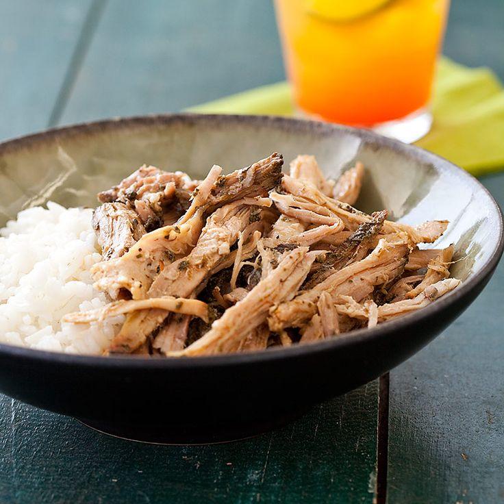 Hawaiian-Style Smoked Pork (Kalua Pork) from Cook's Country: Pork Recipes, Hawaiian Style Smoked, Green Tea, Smoked Pork, Pork Kalua, Cookscountry, Kalua Pork
