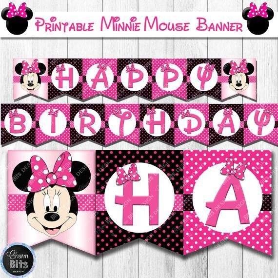 Pin On Minnie Mouse Party Decorations