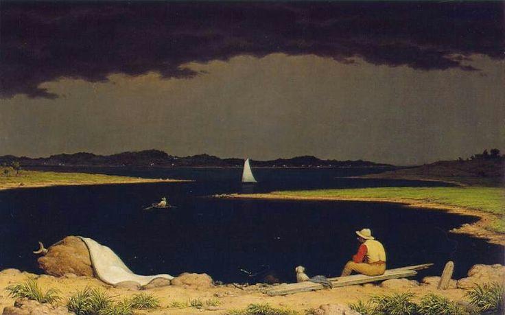 Martin Johnson Heade Approaching Thunder Storm 1859