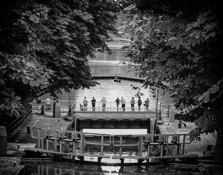 Canal Saint-Martin, Paris. Discover the story behind the image, visit my website www.jeanpierredagenais.com