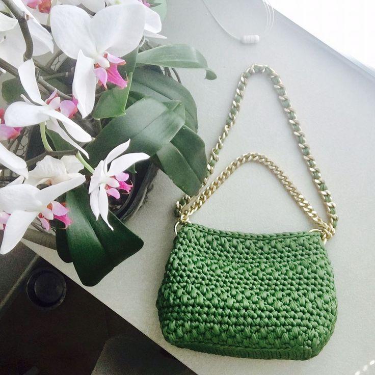 Borsa per un'amica#handbag #handmade#fettuccia#fashion#springsummer2017#fattoamano#madeinitaly
