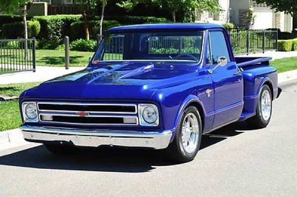 Chevrolet : C-10 Short Bed Stepside Pickup Custom 1967 Chevy C10 Stepside Pickup Truck 454/400 12 Bolt Posi PS PDB Tilt