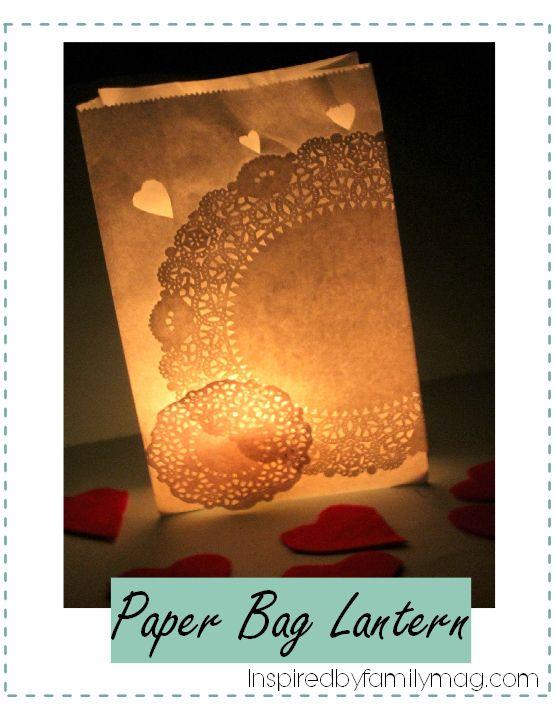 paper bag lantern                                                                                                                                                                                 More