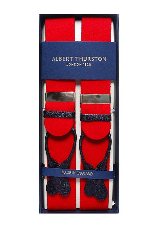 Albert Thurston Red Braces