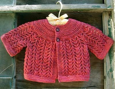 Elizabeth Zimmerman's February Baby Sweater
