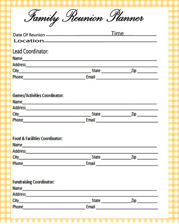 FREE PRINTABLES UNLIMITED DOWNLOADS CLICK ON THE LINK BELOW TO OPEN CHECK BACK OFTEN FOR NEW DESIGNS SIZE 8X10 Format PDF family  family-reunion-grocery-list  family-reunion-guest-book  family-reunion-location-log  family-reunion-invitation  family-reunion-budget  family-reunion-planner  4,122total views, 41views today
