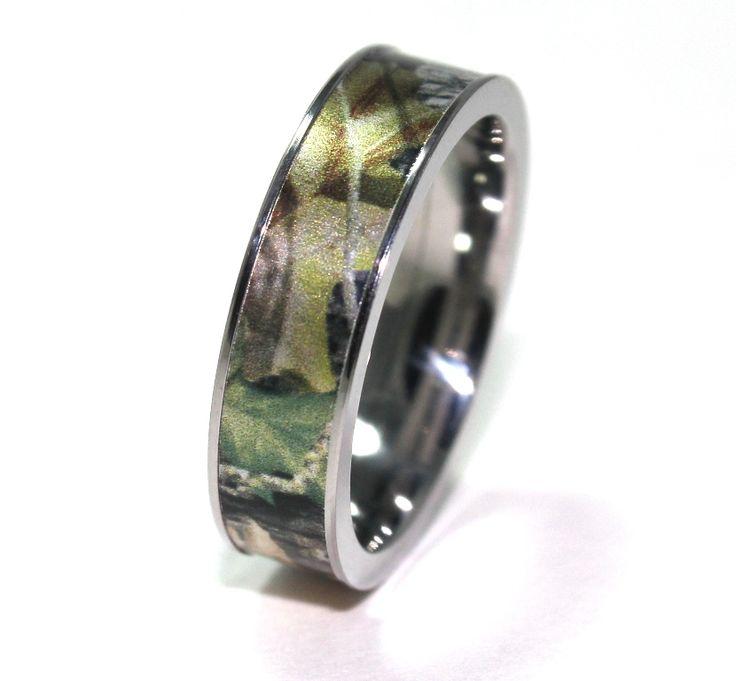 Camo Wedding Rings for Men   Wedding Ring : Wedding