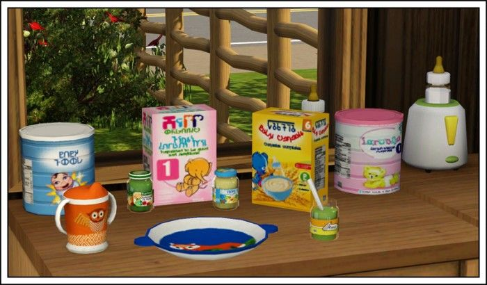 Baby Food by Sandy - Sims 3 Downloads CC Caboodle