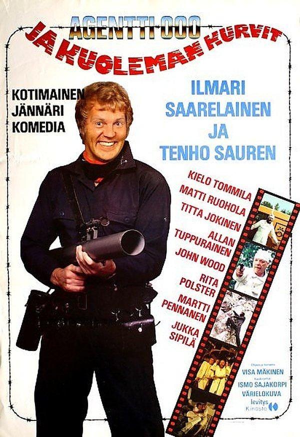 Agentti 000 ja kuoleman kurvit (1983)