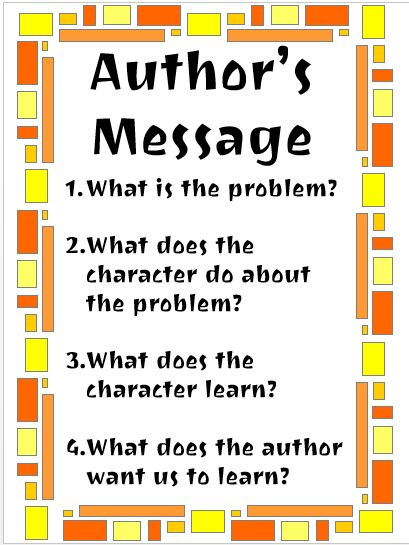 Framework for teaching students to identify the Central Message. It works like magic! (freebie)