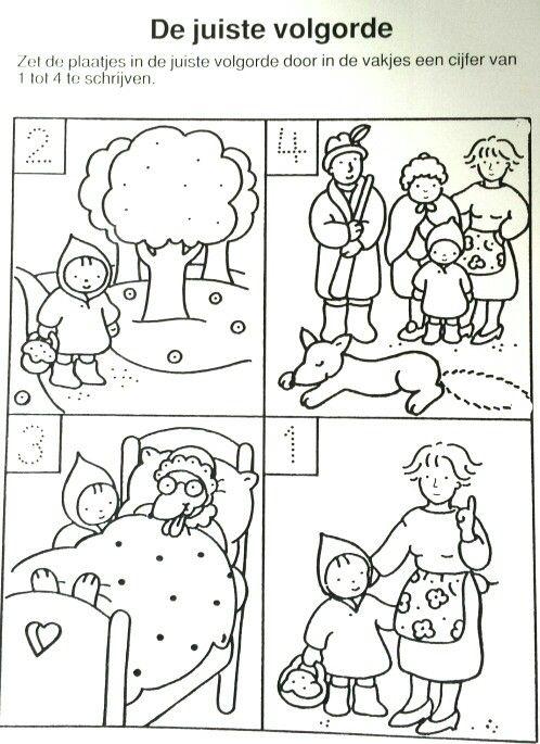 História em imagens Capuchinho