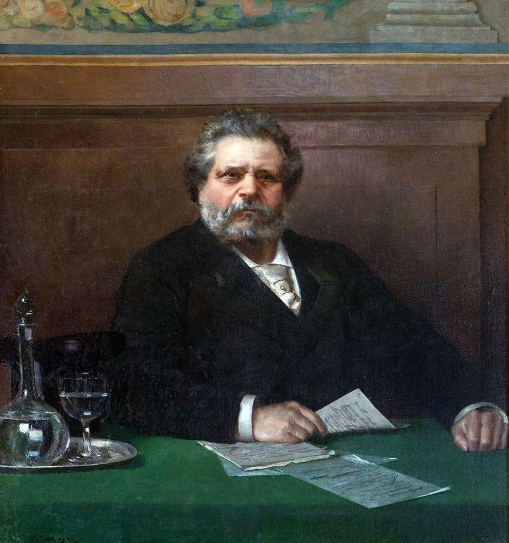 Vittorio Corcos, Giosuè Carducci, 1892, Casa Carducci, Bologna