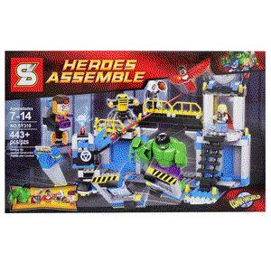 LEGO Superheroes Hulk Lab Smash :  - Termasuk minifigure LEGO : Hulk, Thor, Falcon, MODOK, Taskmaster - Di lengkapi Buku Panduan Perakitan yang detail & mudah di mengerti