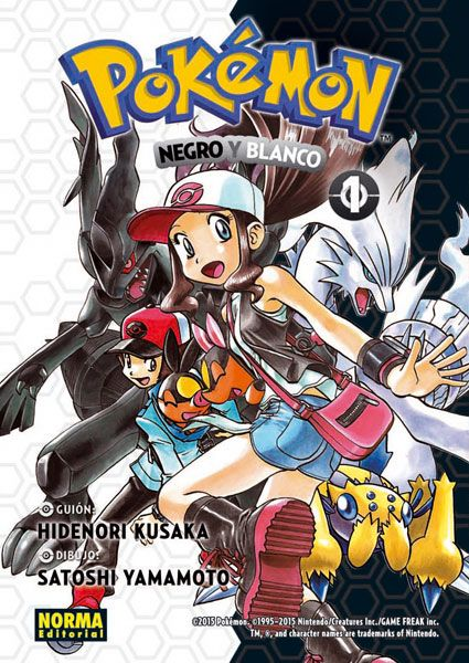 Pokemon Negro y Blanco / Hidenori Kusaka (vol. 1)