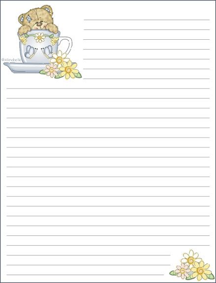 Lined Letter Writing Paper 477 Best Stationary Images On Pinterest  Writing Paper Writing .