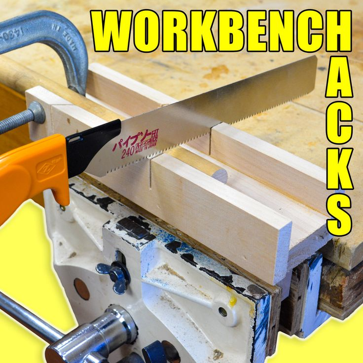Five quick workbench hacks / Woodworking tips!