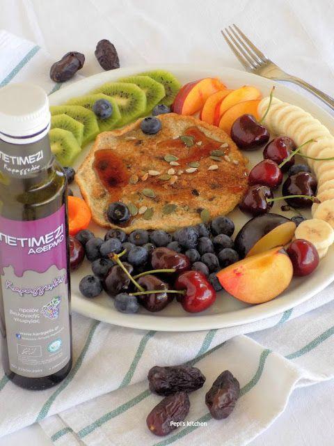 Pepi's  kitchen: Υγιεινή Τηγανίτα για Πρωινό
