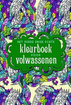 Libris Boekhandel Het Derde Enige Echte Kleurboek Voor Volwassenen