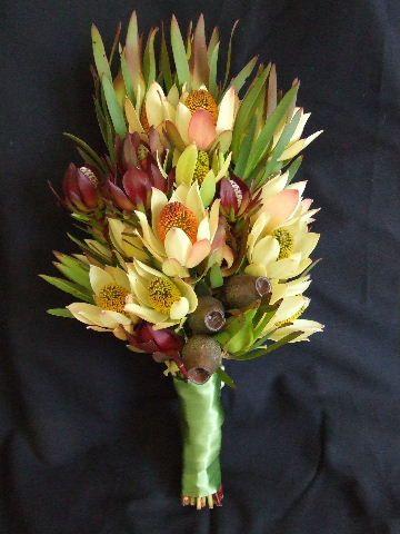 Gumnut and natives - Australian Native Bouquets | Polka Dot Bride