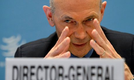 WTO warns against protectionism as it cuts 2013 global trade forecast to 3.3%: WTO chief Pascal Lamy says failure of other policies to stimulate growth makes it more likely countries will resort to import curbs. World Trade Organisation's Pascal Lamy says the risks to the 2013 forecast are 'firmly rooted on the downside' given the continuing crisis in the eurozone.