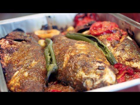 Tanger Markt gerecht: Marokkaanse vis uit de oven - YouTube