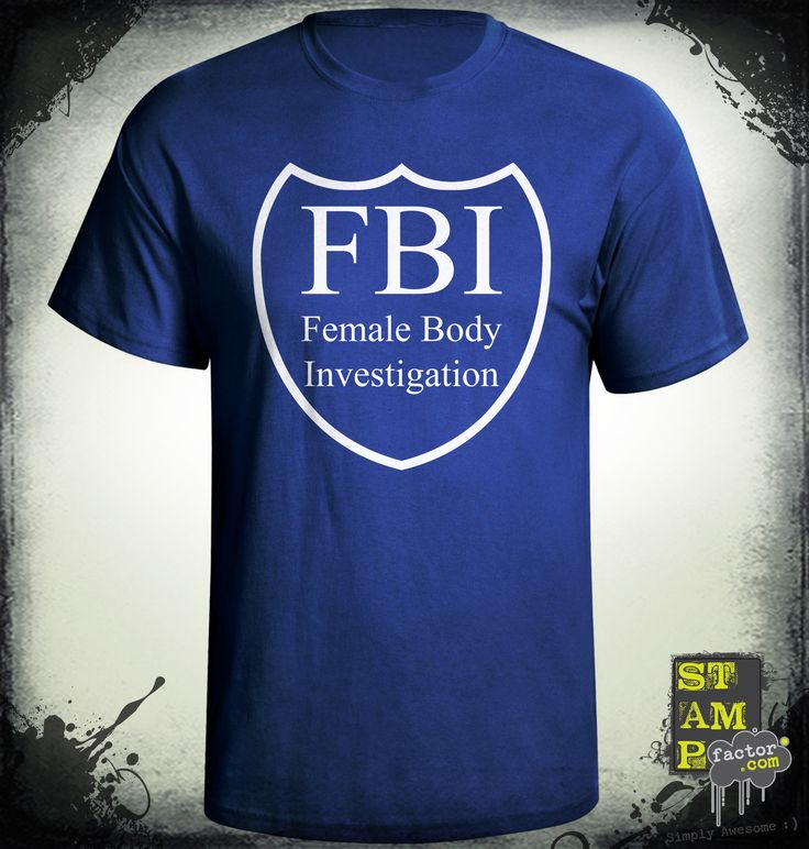 FBI Agent (Ghost White) 2014 Collection - © stampfactor.com *T-SHIRT PREVIEW*