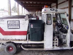 Everett's fleet of mini trash trucks makes garbage pickup cleaner, safer, faster and cheaper.