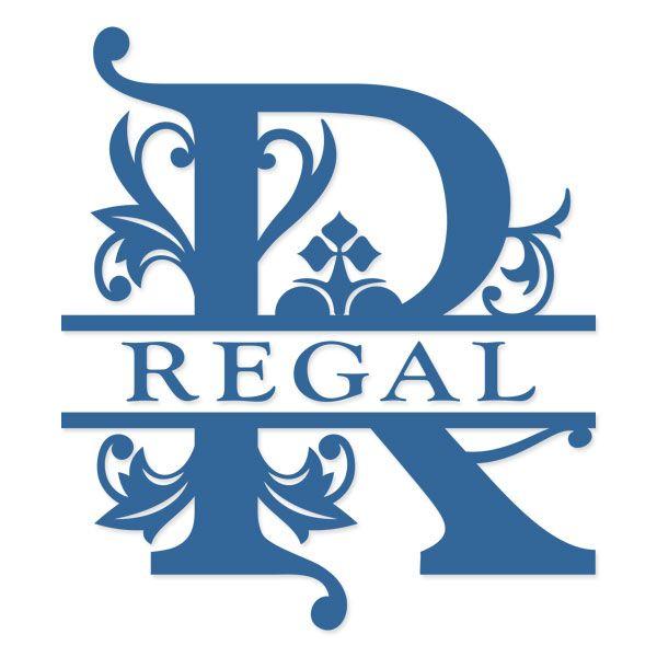Download Regal Split Monogram Cuttable Svg Font | Cricut monogram ...