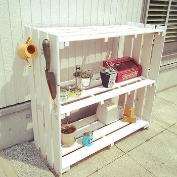 そのまま使ったり大きさを変えたり。サイズが決まっているので収納家具なども手軽にできます。