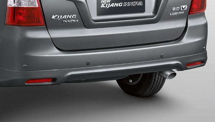 new Kijang Innova New V Lux Bensin Exterior  14