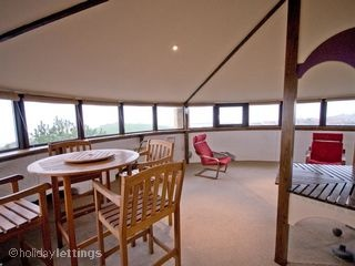 Martello Tower, Folkestone - Top floor space and windows for best views
