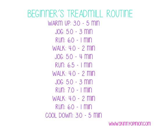 Fat Burning Treadmill Routine for Beginners